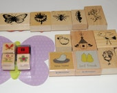 Nature Themed Stamp Collection