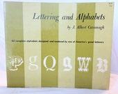 Vintage Lettering & Alphabet Book