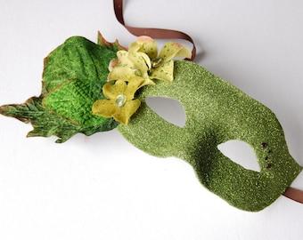 MASK- Wildwood- masquerade mask, Mardi Gras, ballroom, fairy, Venetian, Halloween