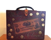 Money to Burn Enid Collins Box Bag