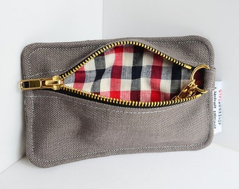 handy percy - multifunctional wallet - french plaids