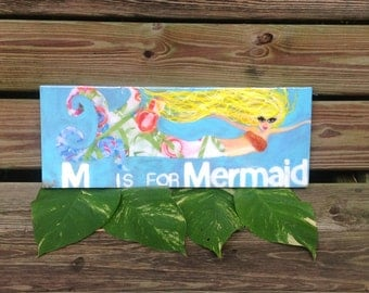 M is for Mermaid