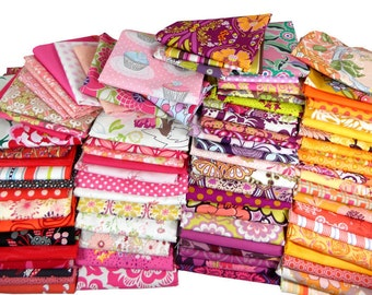 3 Yard Quilting Scrap Bag by Weight - Bolt Ends - Fat Quarters FQ - Scrappy Quilt - 1 Pound of Fabric Scraps