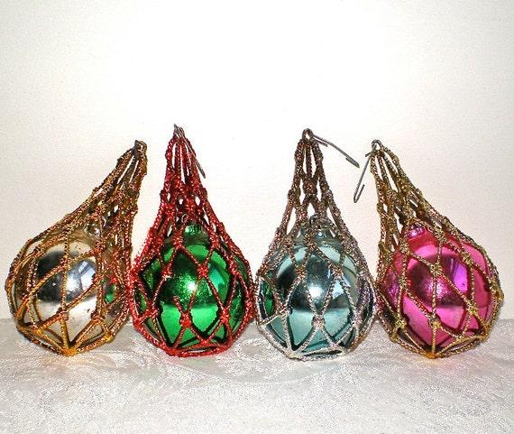 1950s Christmas Ornaments Jewel Brite By Vintagedottirose