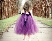 Atutudes Pretty Plum Tutu Dress flower girl dress eggplant tutu dress