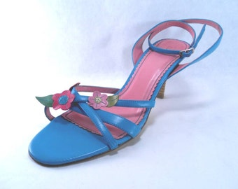 Sale 25% Off Use Coupon Code SAVE25 // Strappy High Heel Sandals by Fioni size 8.5