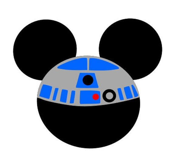 Items Similar To R2d2 Mickey Mouse Iron On On Etsy