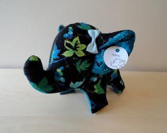 Large Stuffed Elephant- Gabby