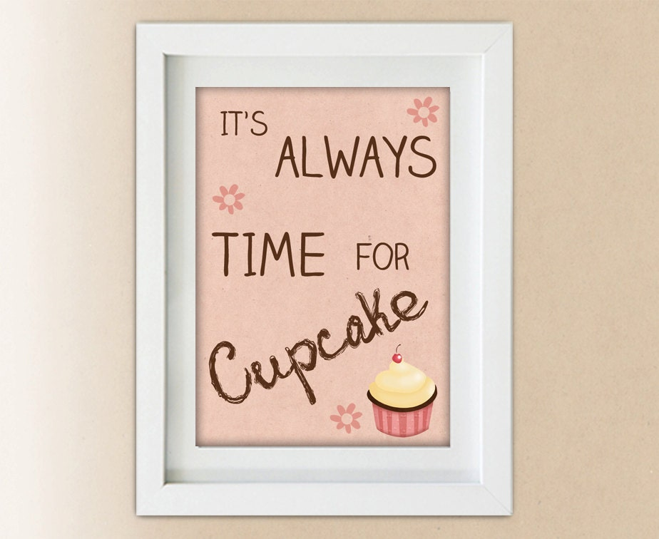 Unavailable listing on etsy for Cupcake wall art