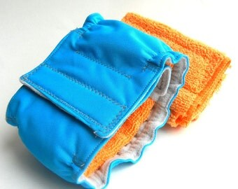 LARGE, 19-21 Inches, Belly Band, Basic Male, Solid Color PUL, Custom Made to Order, Prevent Marking, Pee Protection, Boy Dog