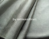 silk fabric, ribbed silk noil satin fabric, light sage green, a quarter metre