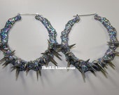 Bling Bling Collection Crazy Spikes   Hologram Silver