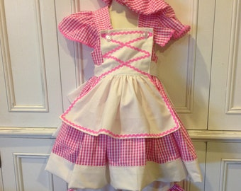 Little Bo Peep Inspired Boutique Costume Dress Size 2T 3T 4T 5 6