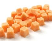 Orange Flavored Sugar Cubes for Tea Parties, Champagne Toasts, Favors, Coffee, Tea, Berries, Cider, Lemonade