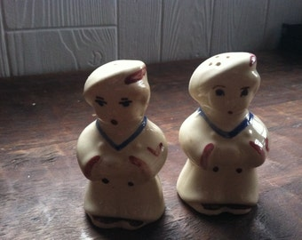 Baker or Choir Boy Salt & Pepper Shakers