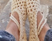 Crochet Slippers Women's Color of Your Choice