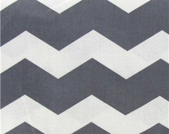 Thick Chevron - Grey - 1 yard 11 inches - End of bolt