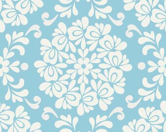 Lila Tueller for Riley Blake Designs - PRISCILLA - Ball in Blue - Cotton Fabric