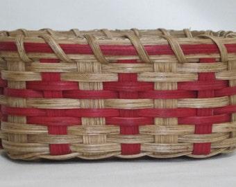 Napkin Basket-Handwoven Basket-Square Basket- Bread Basket