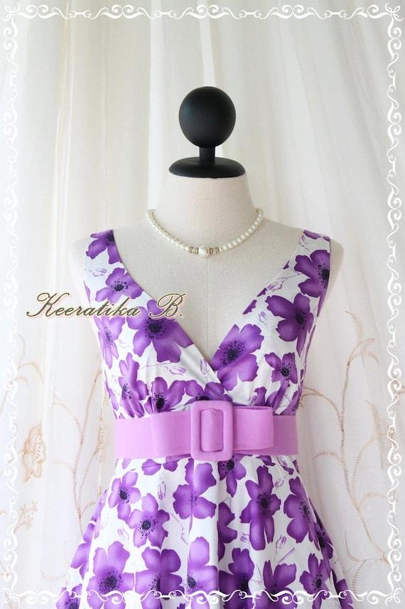 Last Piece SALE Miss Floral Sweet Lady Floral Summer Dress