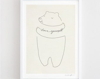 Love Yourself - Art Print