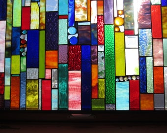 GLASS CURTAINS stained glass panel curtains no more