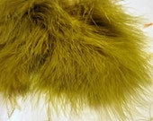 Olive Marabou Feathers MRD-08 Craft feathers