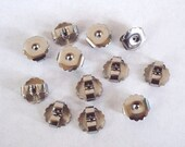 20 Large Surgical Steel Friction Ear Nuts -  Earring Backs