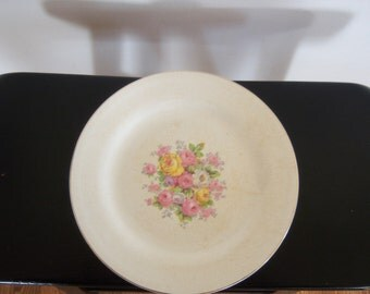 Vintage Edwin Knowles China Plate
