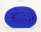 Thin Wool Pencil Roving/Pre-Yarn, Spinning, Felting or Knitting Fiber, Navy Blue FREE SHIPPING WORLDWIDE