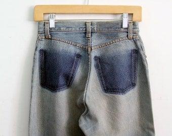 vintage high waist Levi's jeans, waist 26