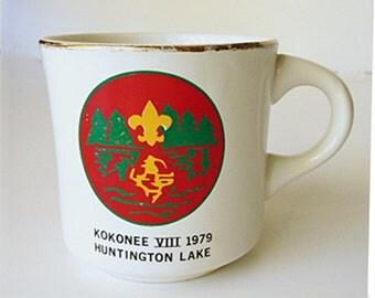 1979 KOKONEE Vlll Huntington Lake Boy Scout mug