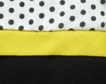 1960's Mod Polka Dot Wiggle Dress, Metal Zipper, 100% rayon-M