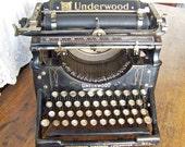 Antique Underwood Typewriter Standard No 5