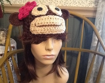 Adult Monkey Hat.