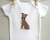 Baby clothes, boxer. Long or short sleeve. Your choice of size.