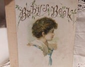 Sweet Victorian Edwardian Baby's Book Full of darling period illustrations