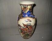 Hand Painted Satsuma Vase