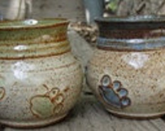 Pet Coffee Mug with paw prints