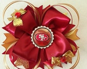 49ers Big Boutique Bow