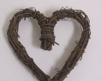 Grapevine Twig heart wreath