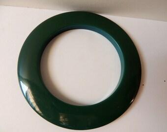Spinach bakelite bangle bracelet           VJSE