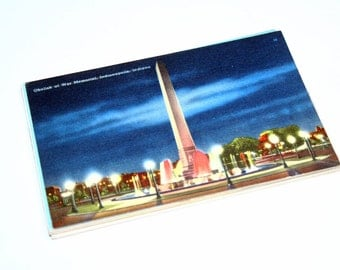 15 Vintage Indianapolis Indiana Postcards Blank - Travel Themed Wedding Guestbook