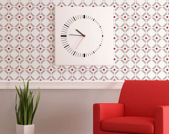 Large Geometric Diamonds and Dots Allover Modern Wall Stencil for Easy Stenciled DIY Decor