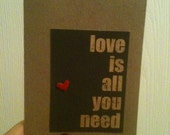 Happy card.. love is all you need