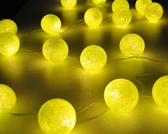 Colourful Rattan ball string lights for PatioWeddingParty