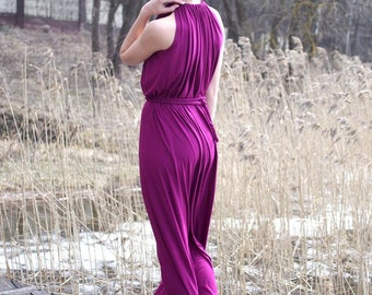 Sleeveless dress, maxi dress, summer dress, elegant dress, casual dress, choose your color