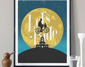 Let's Ride - Limited Edition Screenprint