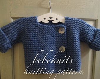 4e2d1439860c Quick Knit Baby Sweater Pattern