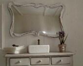 sahbby chic mirror for dollhouses